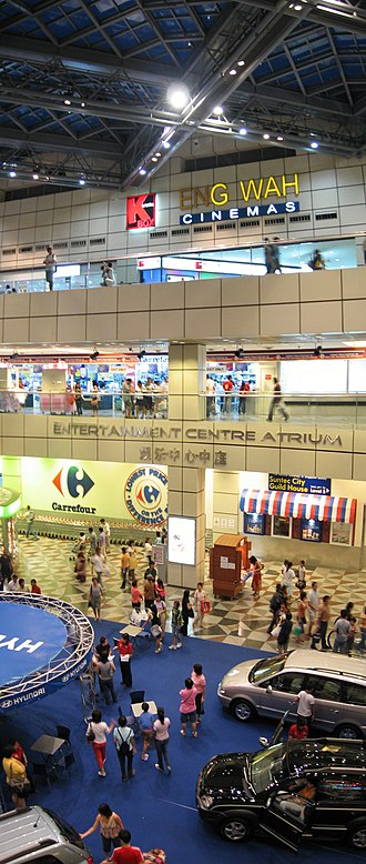 Suntec City - Image: Suntec City Mall, panorama 2, Aug 06