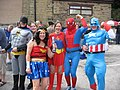 Super heroes in Dobcross - geograph.org.uk - 455230.jpg