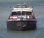 Surcouf, ENI 02319269 on the Rhine river near the locks of Marckolsheim, photo 2.JPG