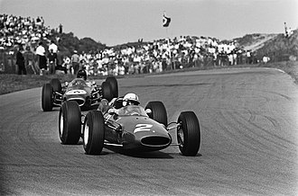 1964 Formula One season - Ferrari won the International Cup for F1 Manufacturers with its 158 (pictured) and 156 F1 models