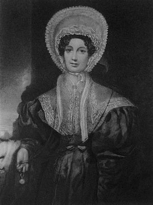 Susan Edmonstone Ferrier - Susan Ferrier from an engraving after the 1836 portrait by R. Thorburn