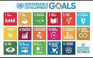 17 Ziele für nachhaltige Entwicklung 2015-2030 der Vereinten Nationen (UN)