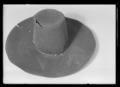 Svart hatt av filt - Livrustkammaren - 78719.tif