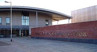 Samuel Whitbread Academy - Image: Swccpic