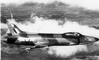 "Supermarine Swift - Swift F Mk.2 WK242 / ""P"" of No. 56 Sqn."