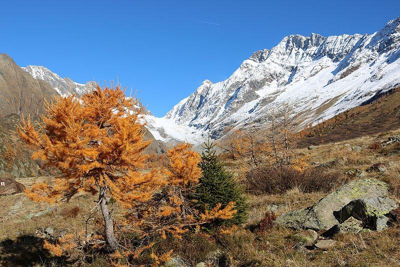 Clima no outono na Suíça