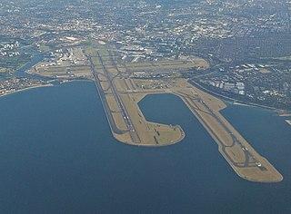 Sydney Airport International airport serving Sydney, Australia