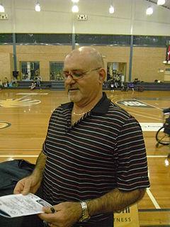 John Triscari Australian women;s wheelchair basketball coach