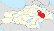 Syunik province location map.png