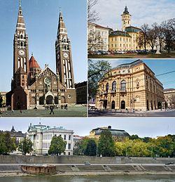 Hình nền trời của Szeged