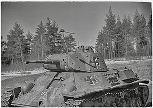 T-50 tank - T-50 in Finnish service, 1944