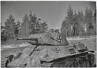 T-50 tank - T-50 in Finnish service, 1944