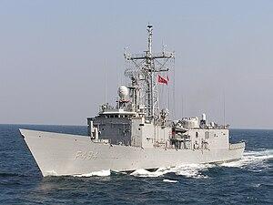 USS Mahlon S. Tisdale (FFG-27) - TCG Gökçeada (F-494)