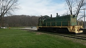 Turtle Creek Industrial Railroad - Image: TCKR 550 Export PA April 2016