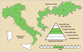 THALICTRUM AQUILEGIFOLIUM - Distribution (Italy).PNG