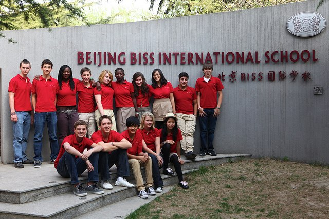 THINK Global Students at BISS