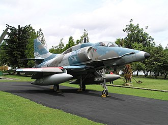 Indonesian Air Force - A-4E Skyhawk of the Indonesian Air Force