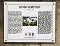 TNTWC - Information Board at Dutch Cemetery Chinsura 01.jpg