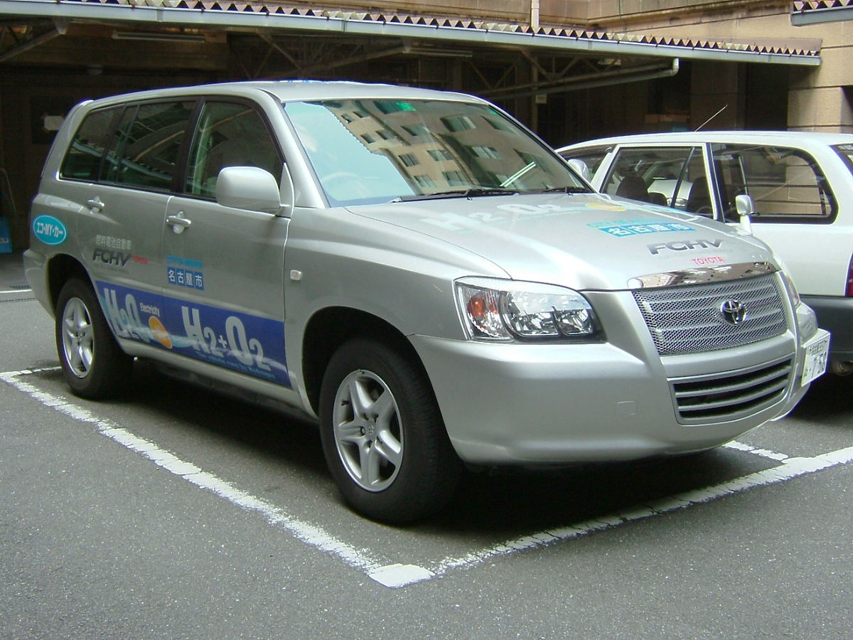 Px Toyota Fchv on Toyota Fuel Cell Car