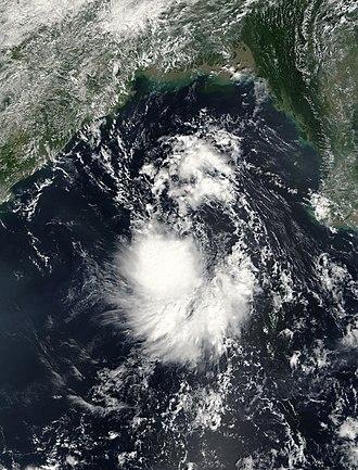 2003 North Indian Ocean cyclone season - Image: TS 23W 27 oct 2003 0435Z
