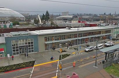 Cómo llegar a Tacoma Dome Sounder Station en transporte público - Sobre el lugar