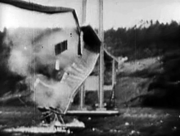 Tacoma Narrows Bridge collapsing
