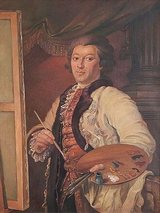 Tadeusz Kuntze - Portrait of Kuntze by Irena Bierwiaczonek: Museo Ziemi Lubuskiej, Zielona Góra, Poland