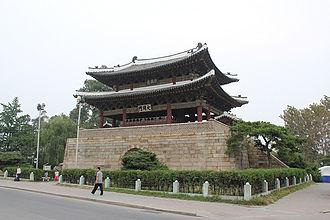Taedongmun - Taedongmun on the Taedong River in Pyongyang
