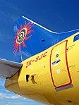 Tailfin of Boeing 737-300 of Freedom Air.jpg