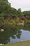 Takuei pond, around which the garden is built (4167260603).jpg