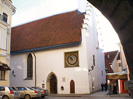 Church of the Holy Ghost, Tallinn