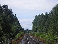 Tampere-Haapamäki-railway near Vilppula.jpg