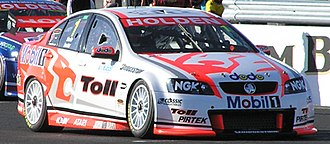 Walkinshaw Andretti United - The VE Commodore of Garth Tander and Mark Skaife at the 2008 L&H 500