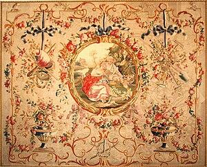 Aubusson tapestry - Image: Tapisserie d'Aubusson (Huet)