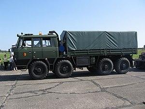 Tatra 815 - Tatra T815 NVA military troop and cargo carrier