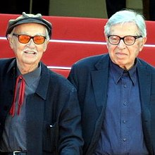 Taviani brothers Cannes 2015 (cropped).jpg