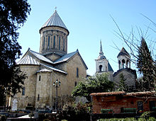 Tbilisi Sioni Cathedral in Georgia, Spring 2011.jpg
