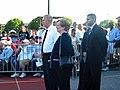 Ted Strickland and Mary Jo Kilroy at Obama-Biden Rally (2813591265).jpg