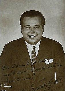 Teddy Bill Austrian actor