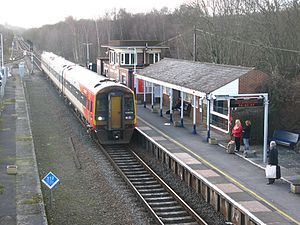 West of England line - Templecombe station