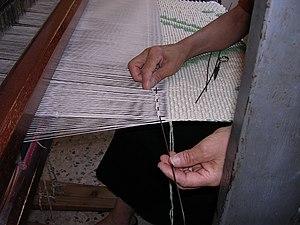 Pibiones - Sardinian craftswoman