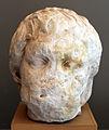 Testa di dace in marmo, dal foro di traiano, 98-117 dc ca. 01.JPG