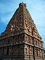 Thanjavur Brihadishvara Temple north west view.jpg