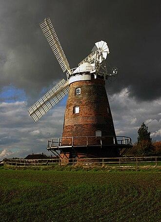 John Webb's Mill, Thaxted - Image: Thaxtead windmill