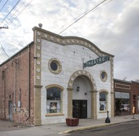 The 1919-vintage Hippodrome Arts Centre, originally a movie theater and now used for community events as well in little Julesburg, Colorado LCCN2015633483.tif
