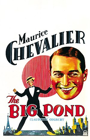 The Big Pond - theatrical poster