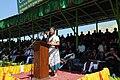 The Chief Minister of Mizoram, Shri Lal Thanhawla addressing at the inauguration of the Chapchar Kut -2010 festivals celebration, in Aizawl, Mizoram on March 11, 2010.jpg
