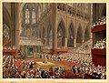 The Coronation of His Majesty, George the Fourth - Taken at the Time of the Recognition. July 19, 1821. by Matthew Dubourg.jpg