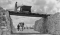 The Decauville Light Train at Lachish - Rail track from southwest corner of the tell (the gate area) to the expedition camp (Expedition Photo 876, Wellcome Trust, 1933–1938).png