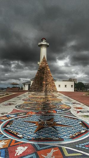 Port Elizabeth - The Donkin Reserve in Port Elizabeth, taken in September 2014. It portrays both the older and parts of the newer sections of the monument.